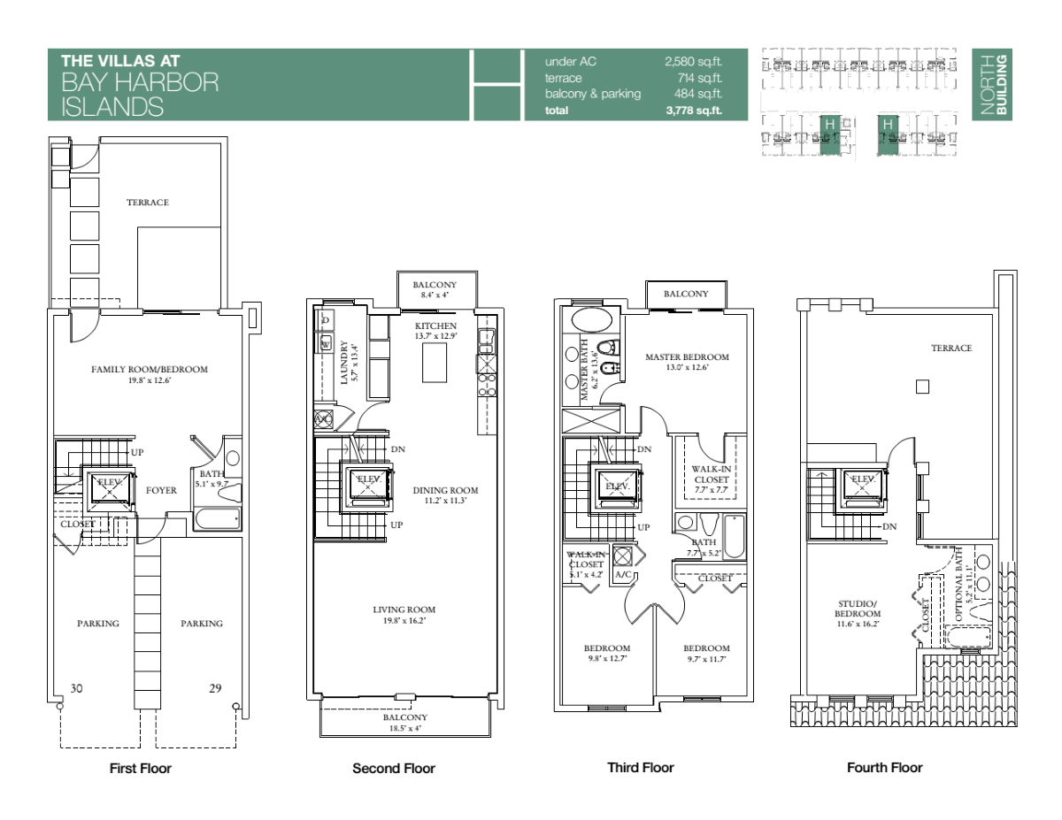 Villas At Bay Harbour - Floorplan 8