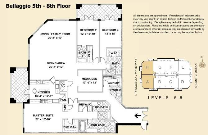 Villas Of Positano - Floorplan 1