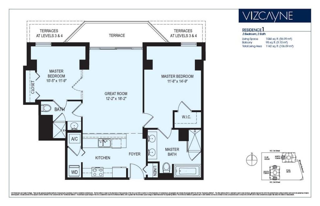 Vizcayne - Floorplan 1