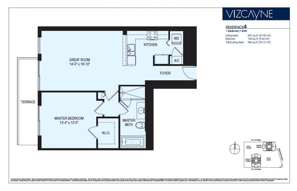 Vizcayne - Floorplan 4