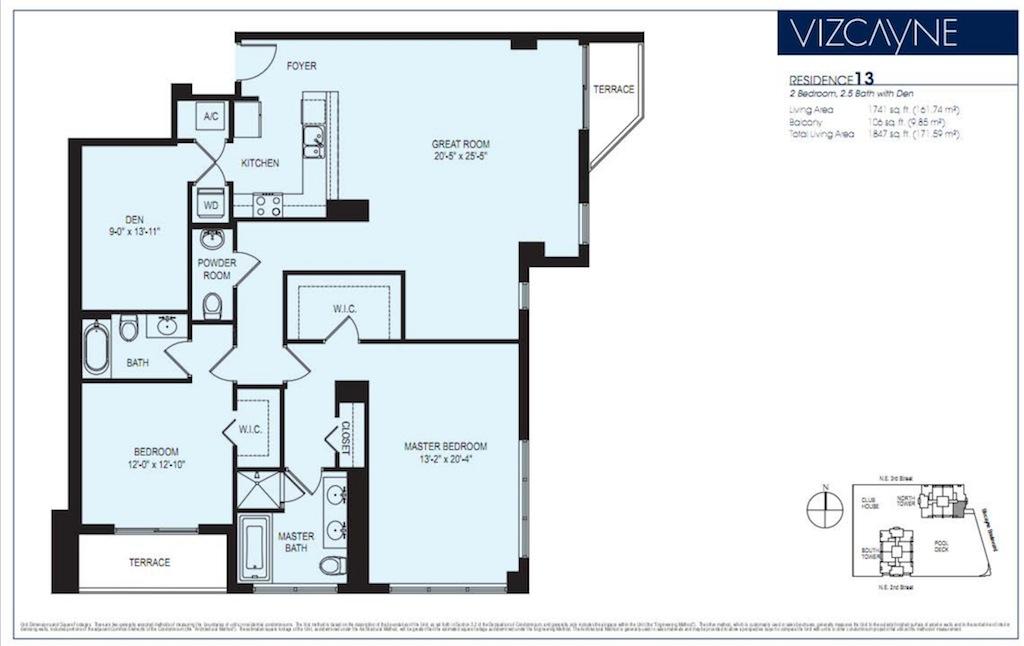 Vizcayne - Floorplan 13