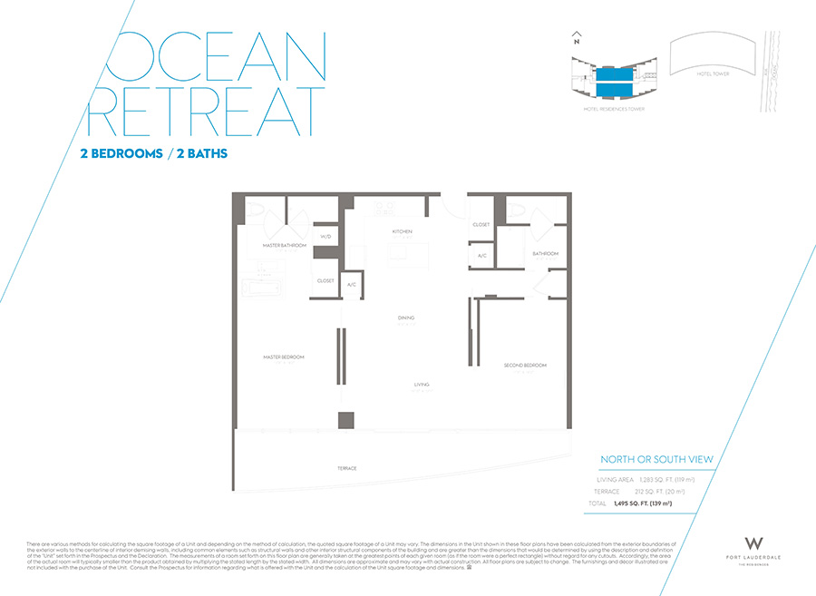 W Residences - Floorplan 2