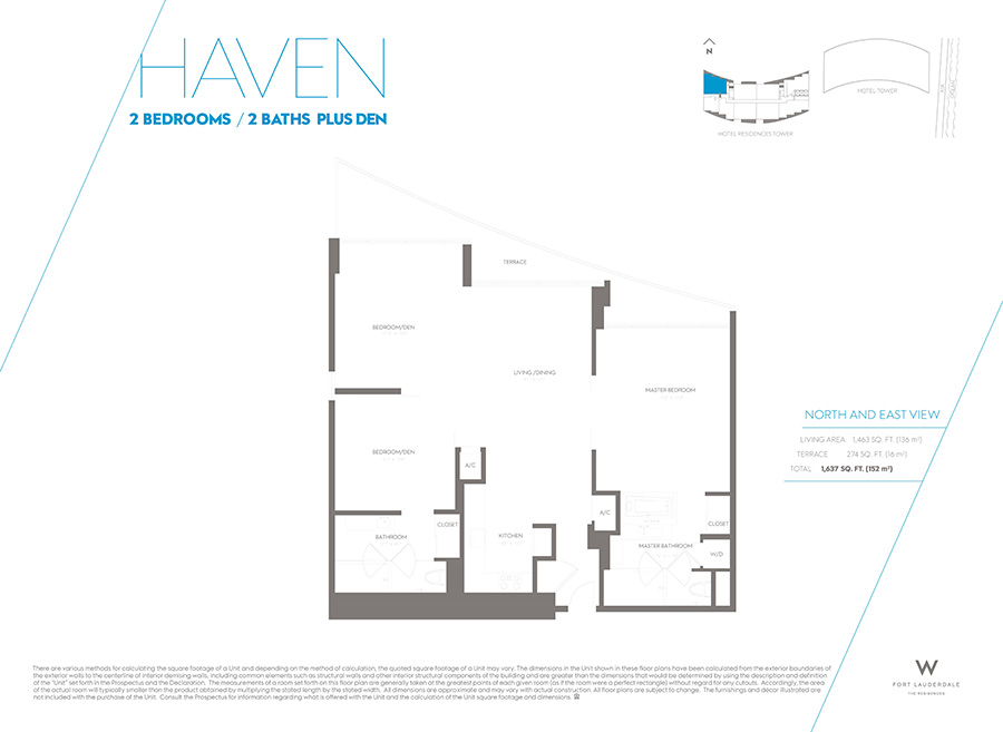W Residences - Floorplan 3