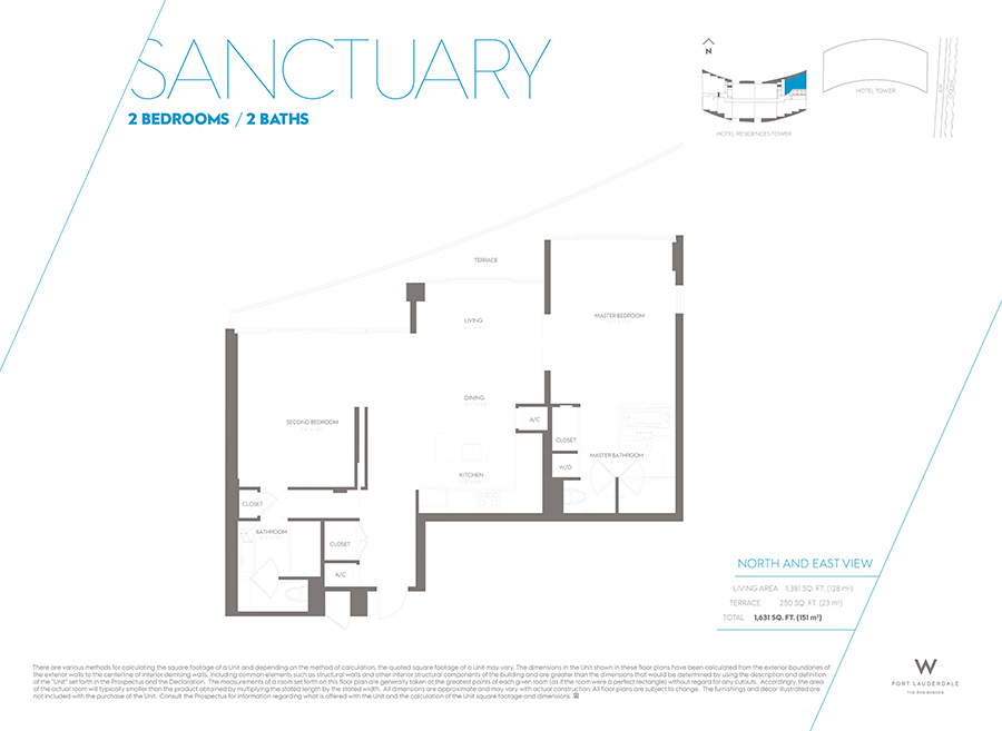 W Residences - Floorplan 5