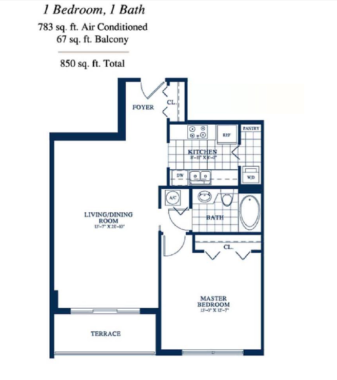 Yacht Club At Portofino - Floorplan 3
