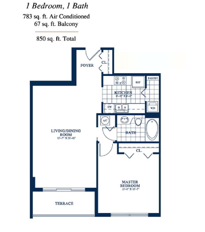 Yacht Club At Portofino - Floorplan 4