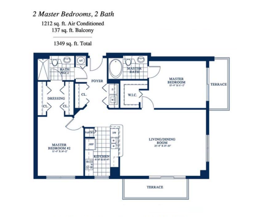 Yacht Club At Portofino - Floorplan 5