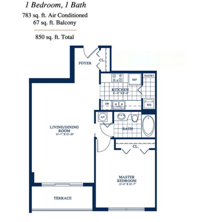 Yacht Club At Portofino - Floorplan 6