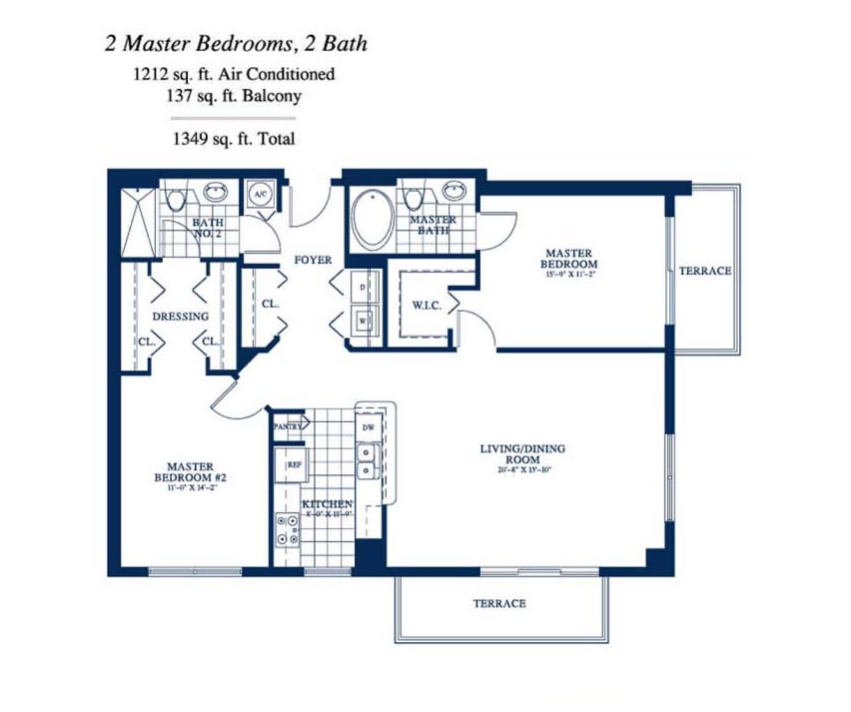 Yacht Club At Portofino - Floorplan 11